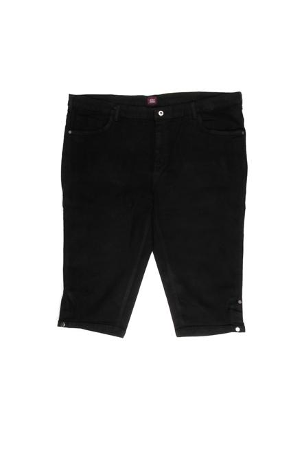 Pantaloons Black Shorts