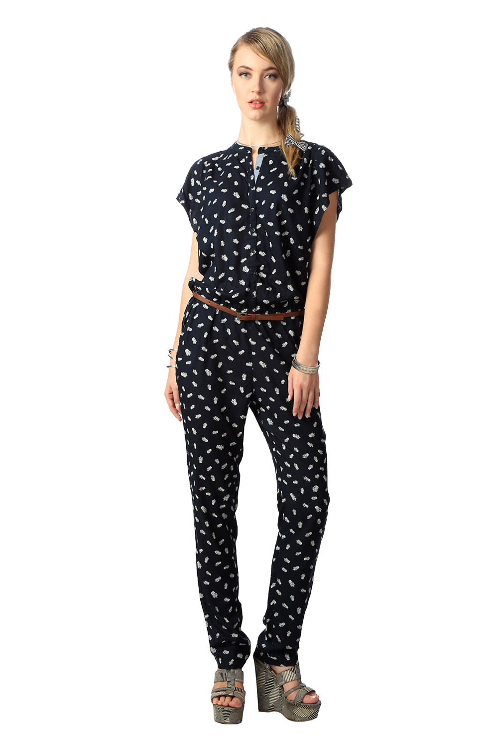 Innovative Home Women Jumpsuits Amp Playsuits Jersey Jumpsuit  Navy