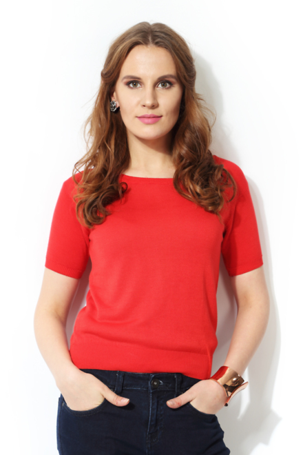 Pantaloons Red Sweater
