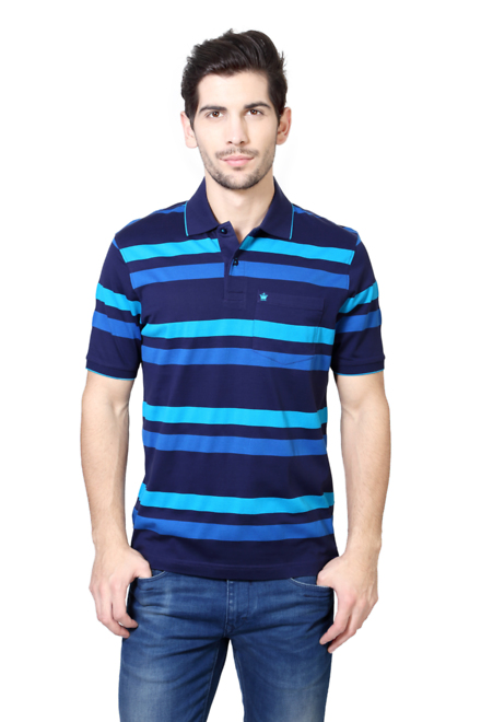 Louis Philippe Blue T Shirt