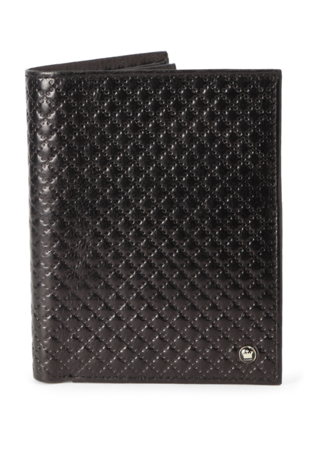 Louis Philippe Black Wallet
