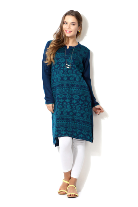 People Blue Kurta