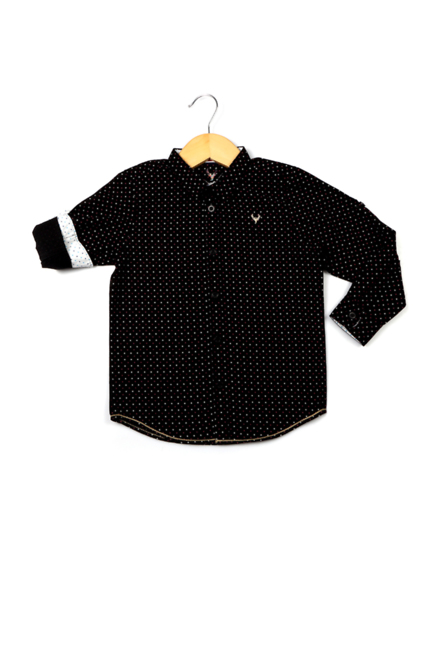 Allen Solly Black Shirt