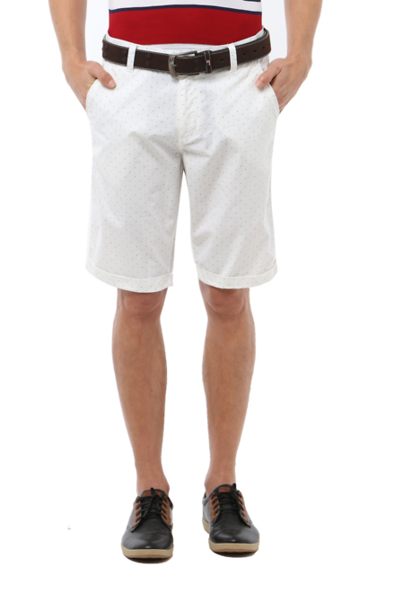 Van Heusen White Shorts