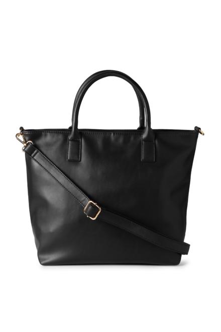 People Black Handbag