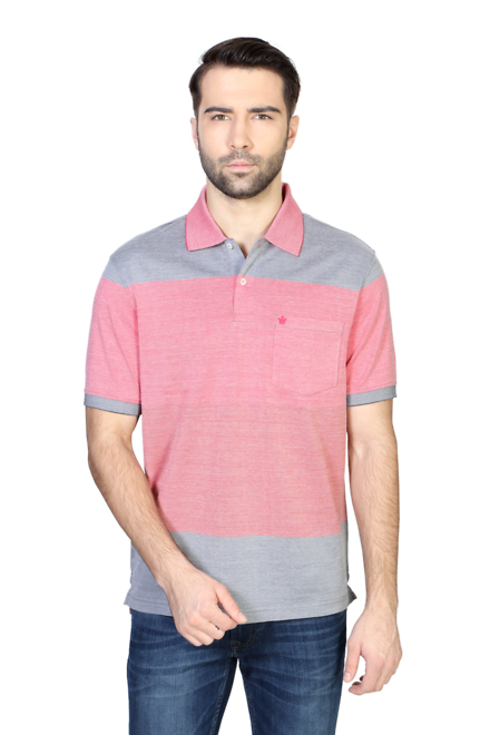 Louis Philippe Red T Shirt