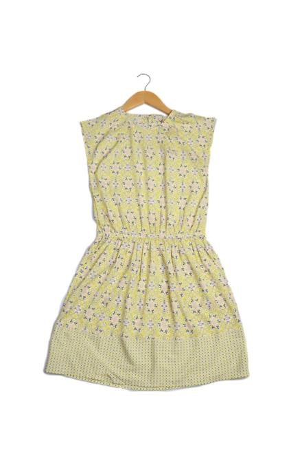 Allen Solly Yellow Dress
