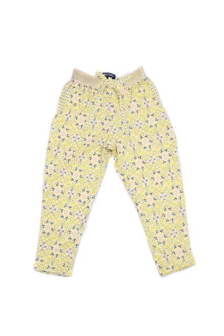 Allen Solly Yellow Trousers