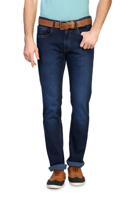 Peter England Casuals Peter England Blue Jeans