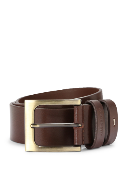 Allen Solly Brown Belt  available at Trendin for Rs.780