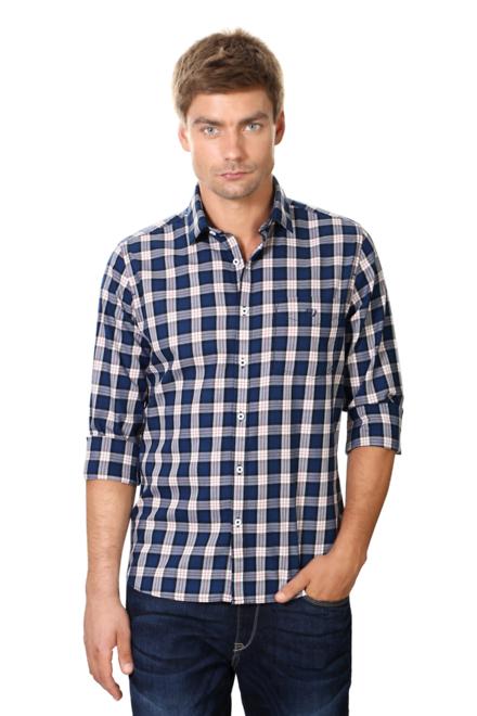 Van Heusen Navy Shirt