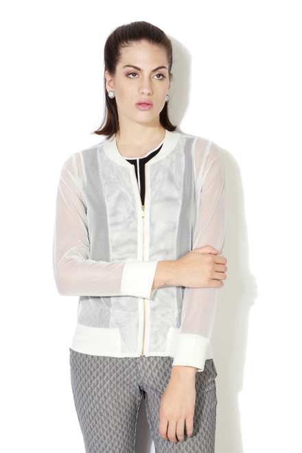 Allen Solly White Jacket