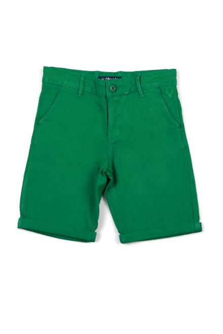 Allen Solly Green Shorts