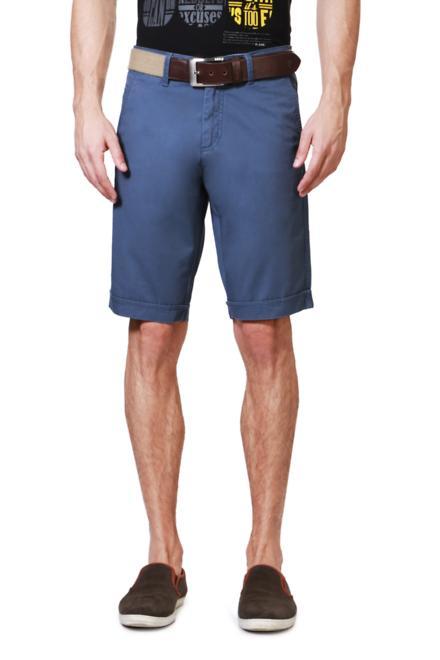 Allen Solly Blue Shorts