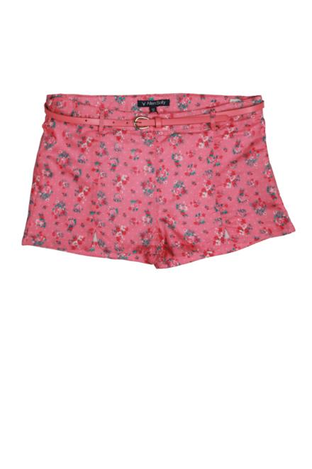 Allen Solly Pink Shorts