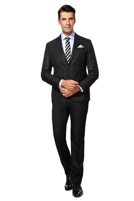 Van Heusen Van Heusen Black Two Piece Suit
