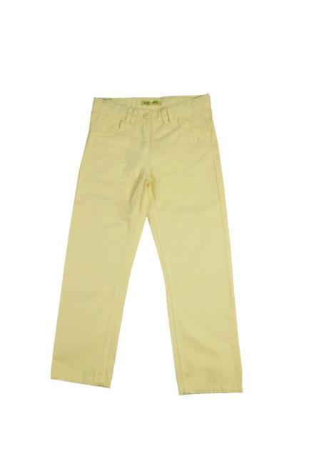 Allen Solly Yellow Pants