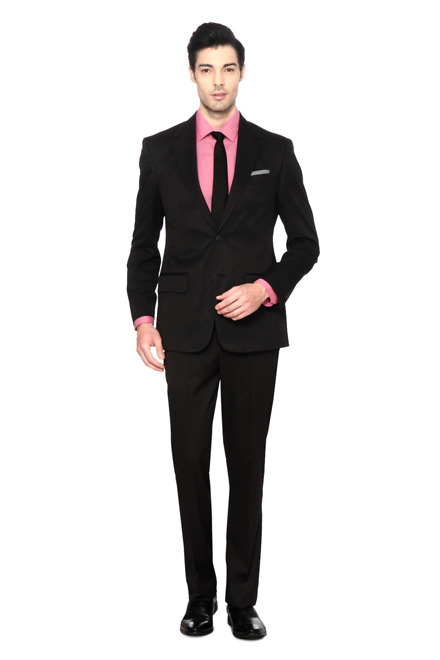 Peter England Peter England Grey Two Piece Suit