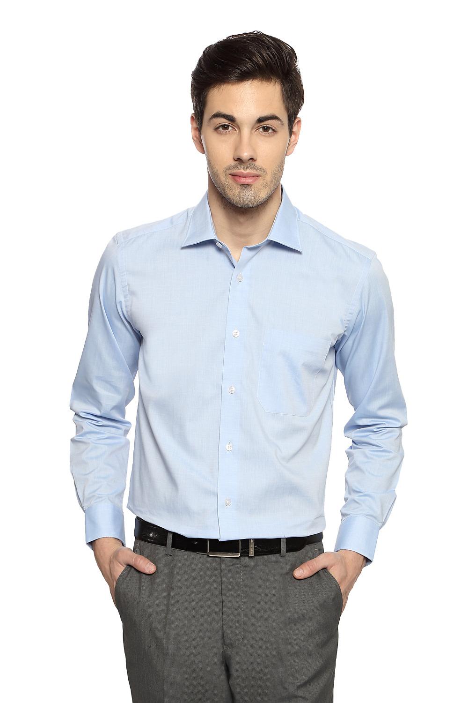 Light Blue Formal ShirtLouis Philippe Formal Shirts