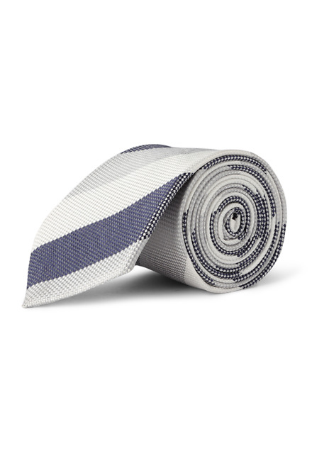 White Formal Tie - Peter England