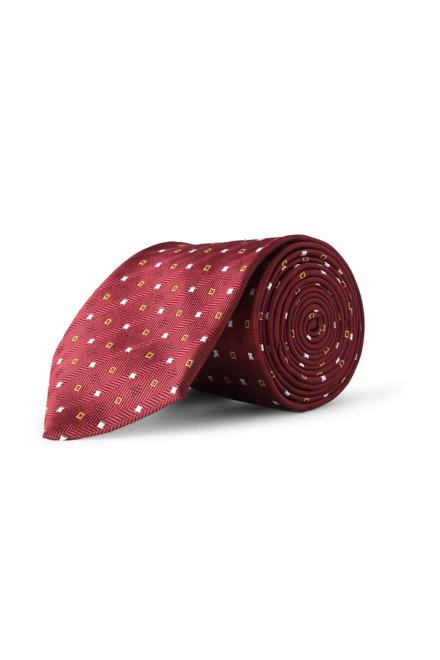 Maroon Formal Tie - Peter England