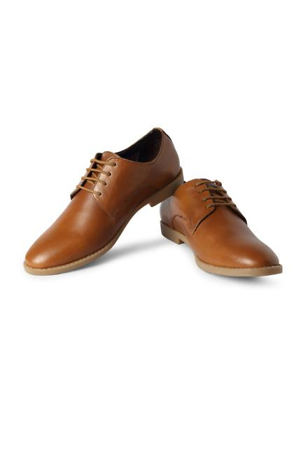 Brown Formal Lace Up Shoes - Solly Sport