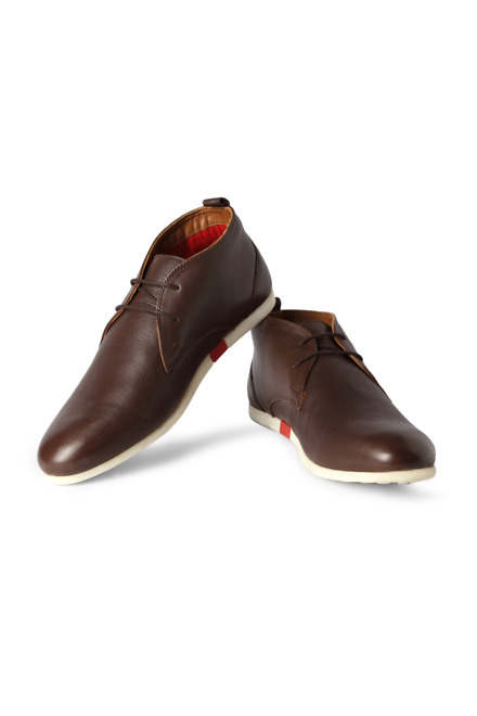 Brown Casual Lace Up Shoes - LP
