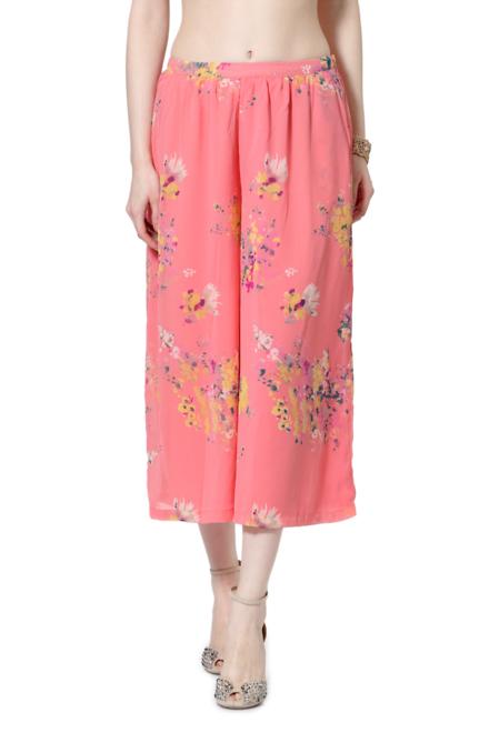 Pantaloons Pink Culottes