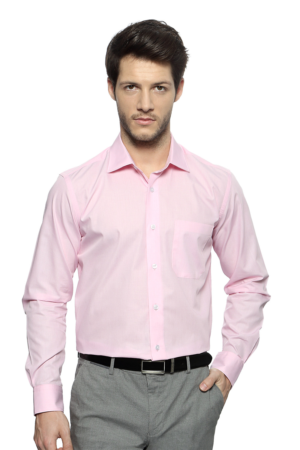 pale pink shirt artee shirt
