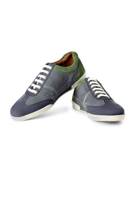 Blue Casual Lace Up Shoes - LP