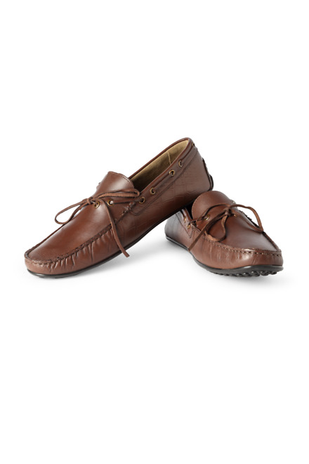 Brown Casual Loafers - Louis Philippe