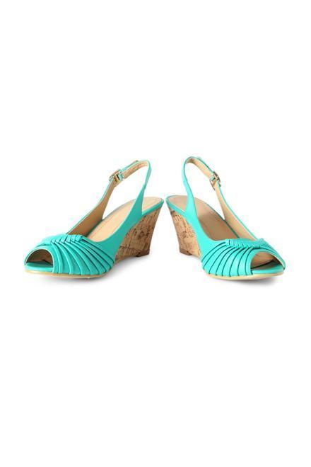 Allen Solly Turquoise Wedges
