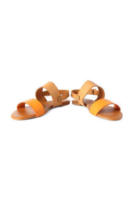 Allen Solly Orange Sandals