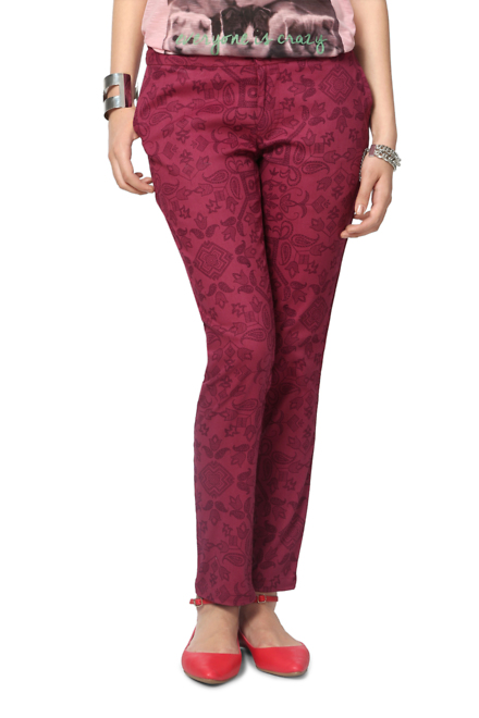 People Maroon Trousers