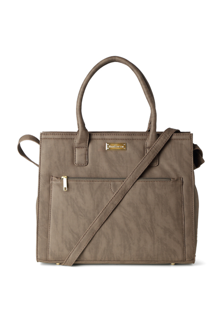Van Heusen Brown Handbag