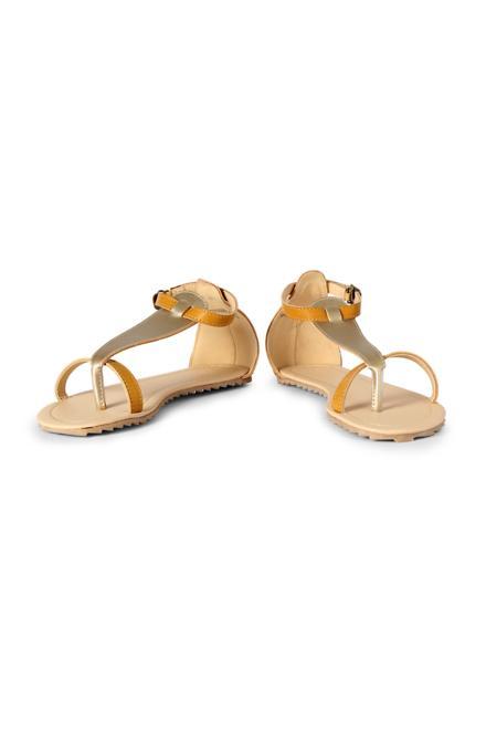 Allen Solly Brown Sandals