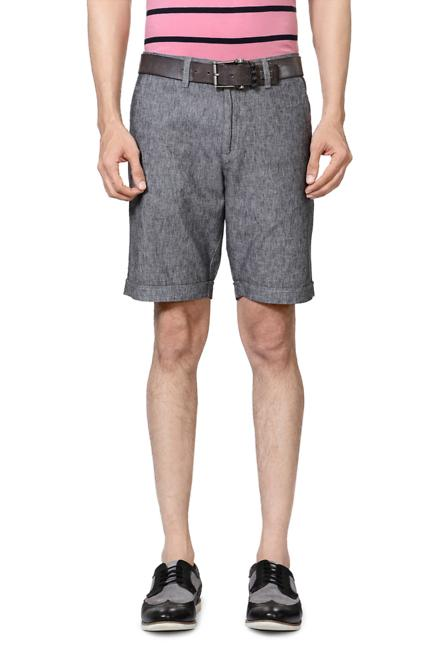Allen Solly Grey Shorts