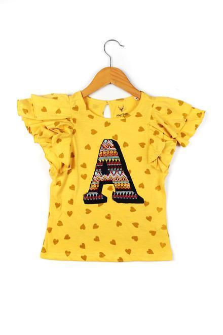 Allen Solly Yellow Top