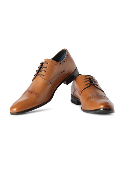 louis philippe brown formal shoes for in