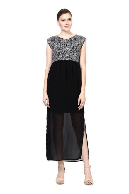 Allen Solly Black Dress