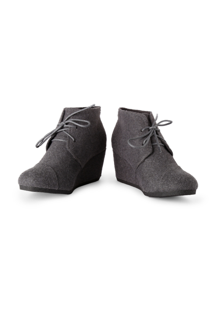 People Grey Wedges