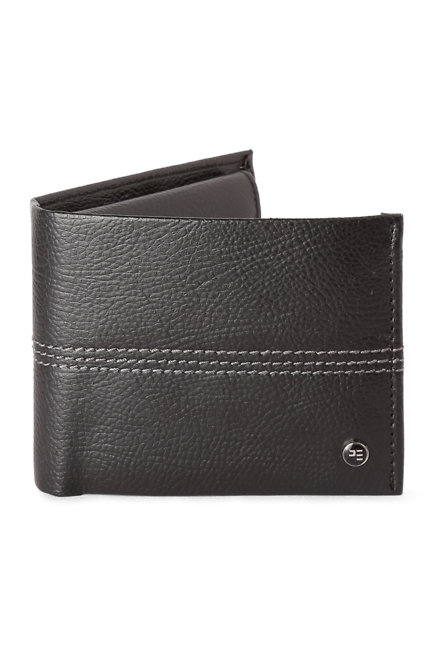 Peter England Black Wallet  available at Trendin for Rs.630