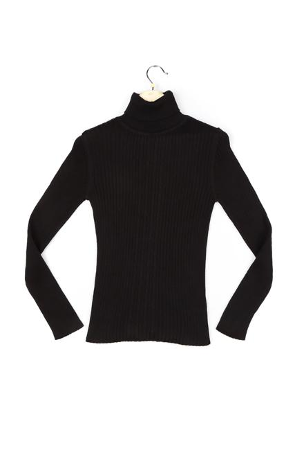 Allen Solly Black Sweater