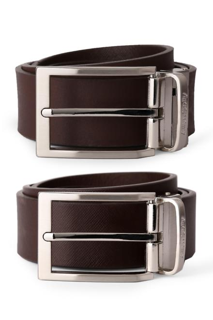 Allen Solly Brown Reversible Belt  available at Trendin for Rs.900