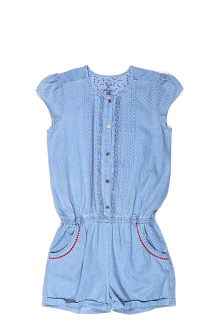 Allen Solly Blue Playsuit