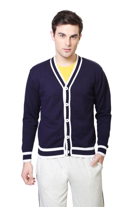 Pantaloons Navy Cardigan
