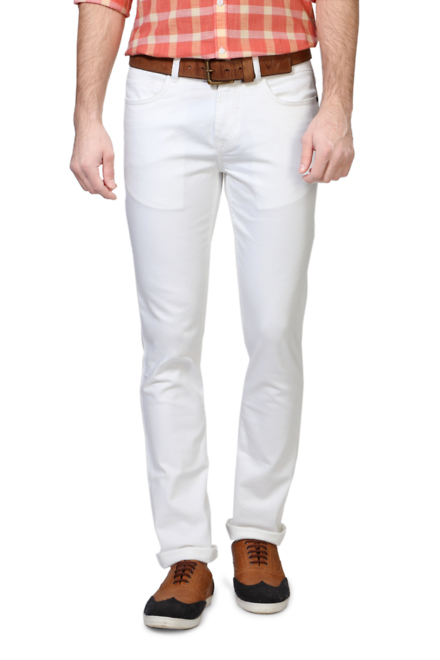Pantaloons White Jeans
